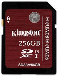 High Speed Compatible Memory Cards for Canon
