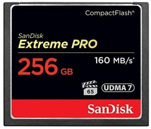 Best Compact Flash Memory Cards for Canon 5D
