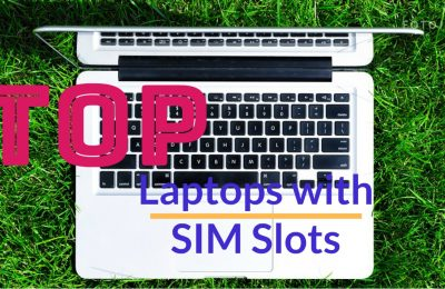 Laptops With SIM Card Slots