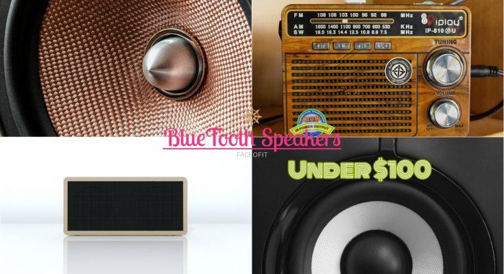 Best & Loudest IPX7 Waterproof Bluetooth Speakers under $100 & Great Bass