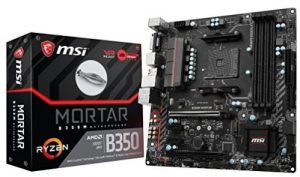 AMD B350 Chipset Motherboards for Ryzen