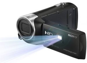 camcorders with built-in projectors