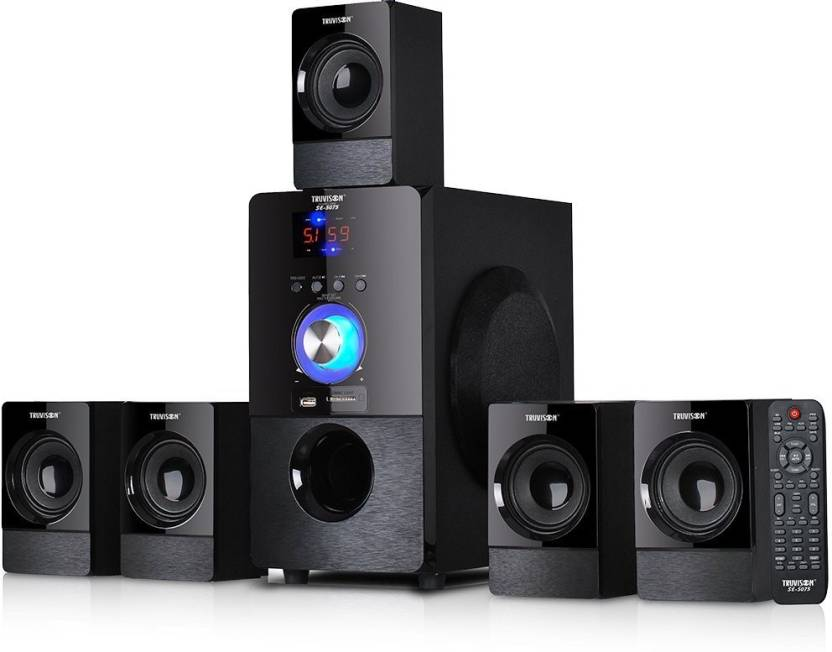 Best 5 1 Speakers With Fm Usb Aux And Bluetooth Home