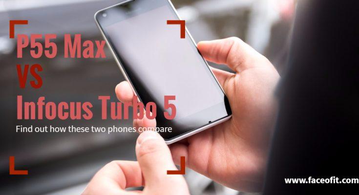 Panasonic P55 Max vs Infocus Turbo 5