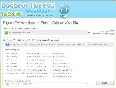 How to Import Export Tweets to Microsoft Excel