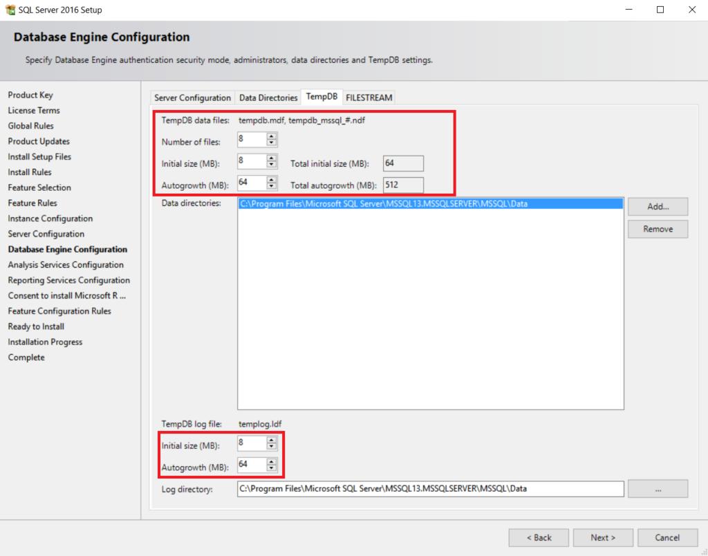 New SQL Server 2016 Installation Features Walk through