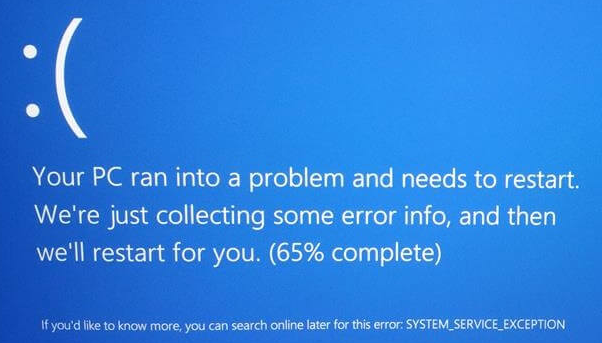 How To Fix System_Service_Exception Blue Screen Errors In Windows 10 & 8