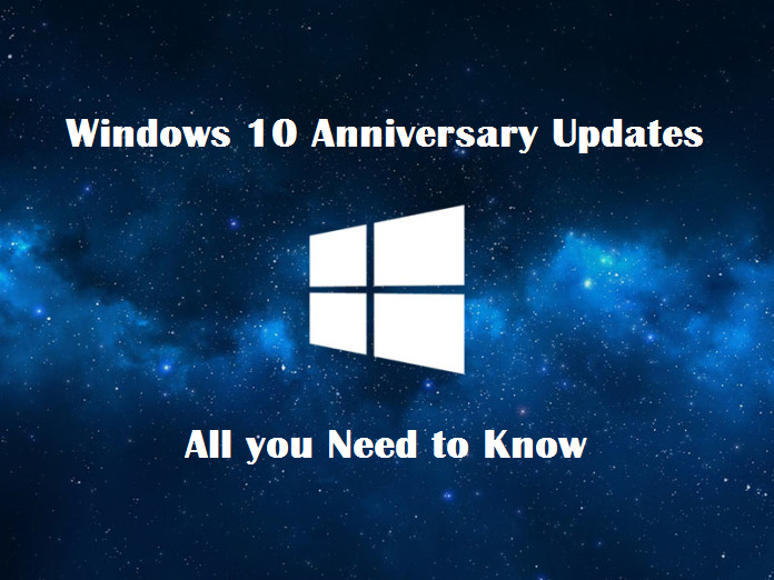 All You Need To Know About The Windows 10 Anniversary Update