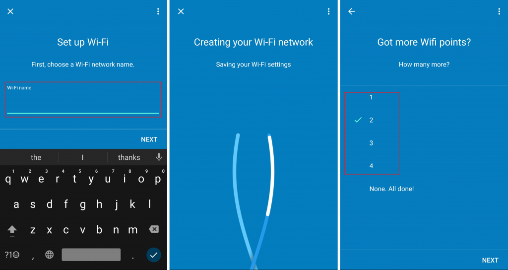 Configure Google WiFi Router