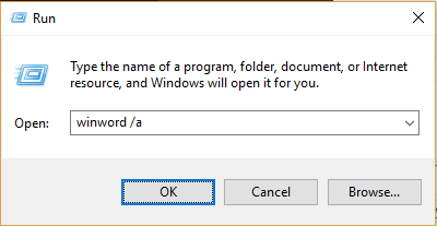 Microsoft Word Not Opening