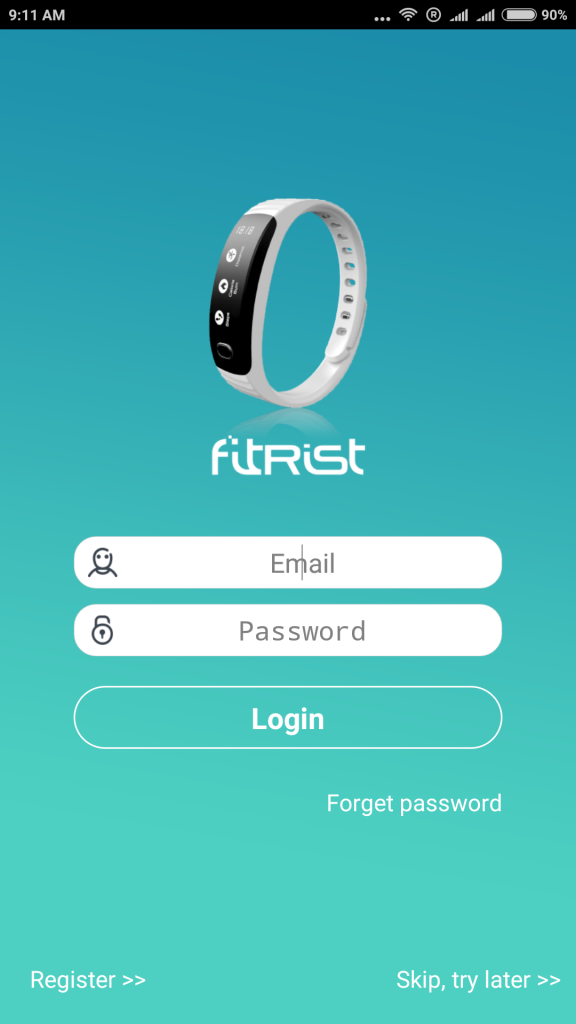 Setup Intex FitRist Band to Android