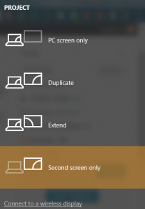Windows 10 Does Not Detect Second Monitor
