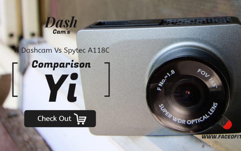 Yi Dashcam Vs SpytecA118C