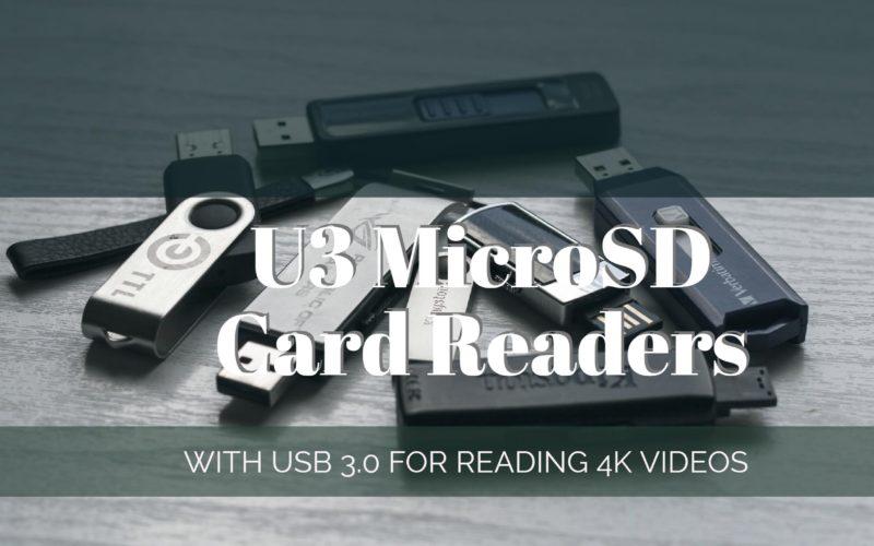 Best UHS-3 MicroSD Card Readers