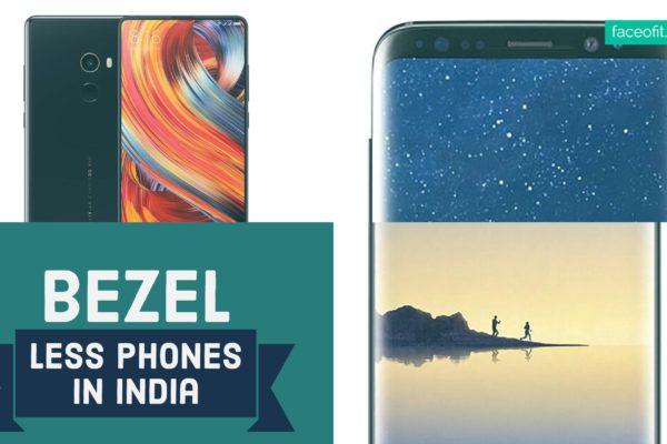 Best Bezel Less Mobiles Phones
