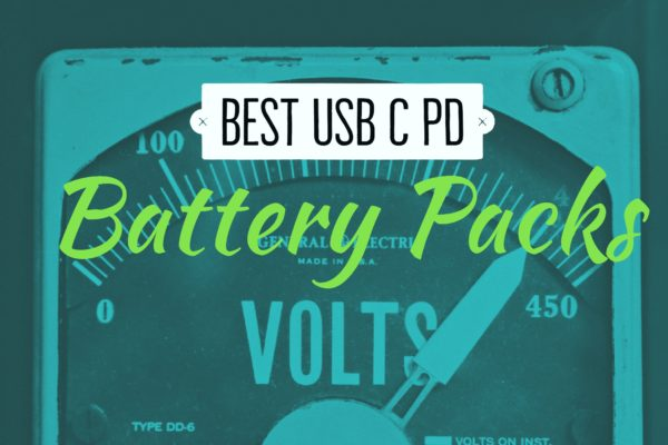 Best USB-C PD Battery Packs