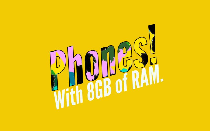 Best Smartphones with 8 GB RAM