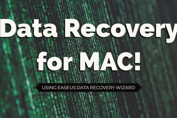 Using Easeus Data Recovery Wizard