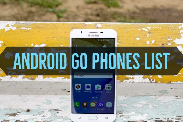 Android Go Phones List