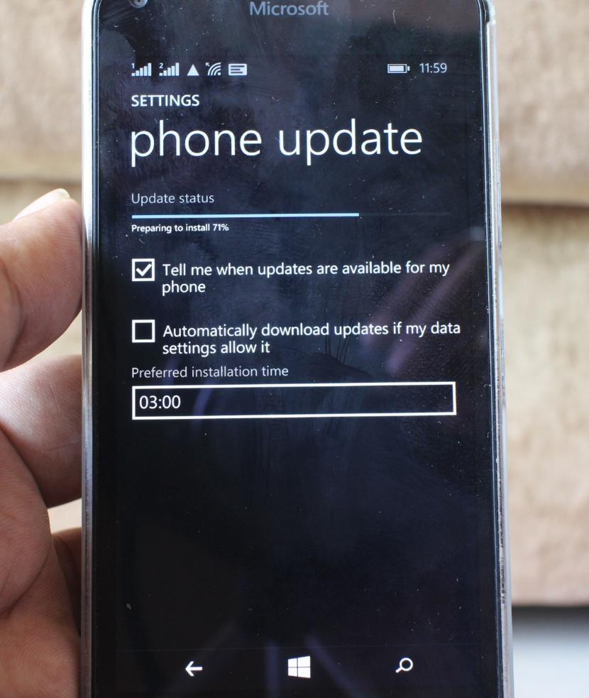 data windows phone