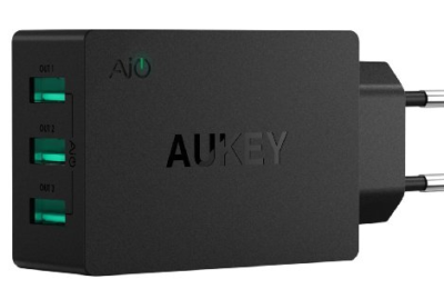 Review of 3 Port Aukey PA-U35 30W USB Wall Charger