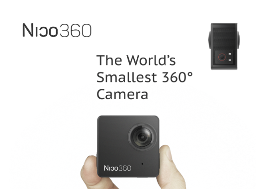 Nico360 is the Worlds Smallest 360 Live Camera