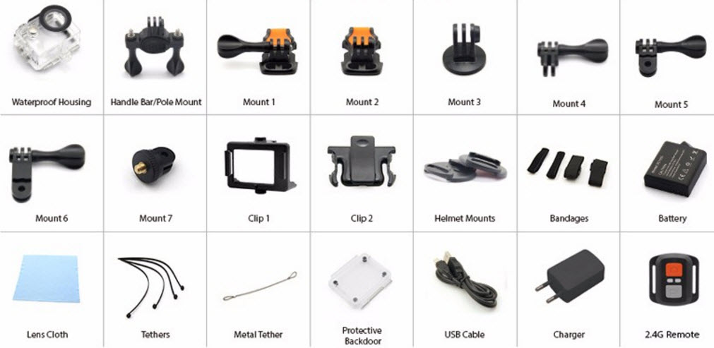 Eken H9 Ultra HD Action Camera Review Specifications and Sample Videos