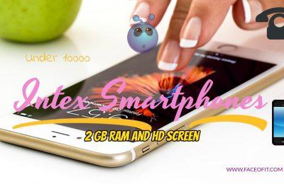 Intex Aqua 4G Smartphones Under 10000