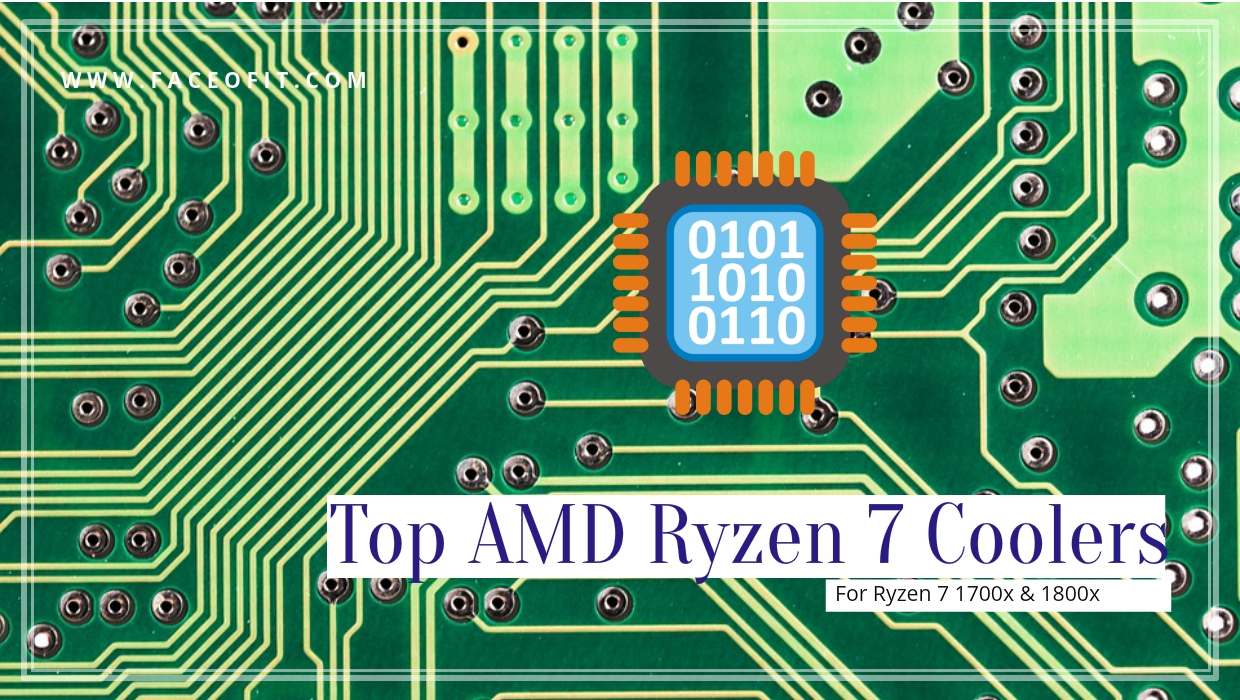 Top Socket Am4 Compatible Amd Ryzen 7 Cpu Coolers For 1800x 1700x