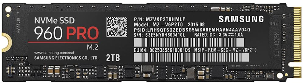 Top NVME SSD M.2 based storage