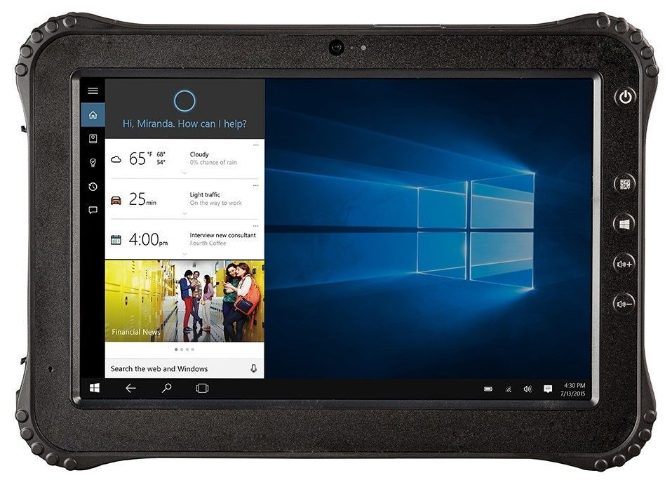 Vanquisher 10 Inch Rugged Tablet Face Of It Reviews
