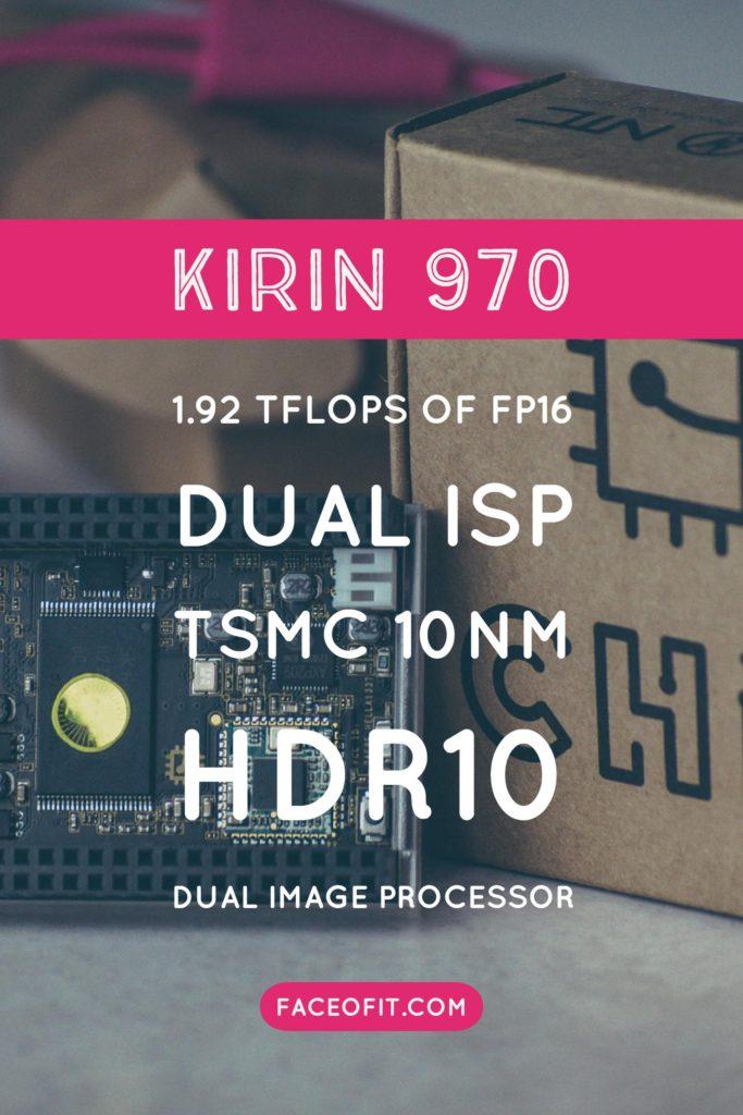 Huawei Kirin 970 vs Kirin 960