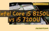 Intel Core i5 8250U vs i5 7200U