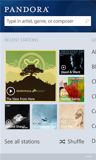 Pandora is Finally on Windows Phone 8
