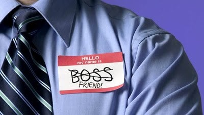 Is it right to be friends with the Boss?