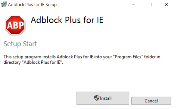How to Block AD's on Internet Explorer
