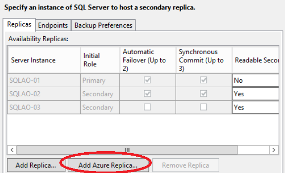 SQL Server 2016 Always On Enhancements