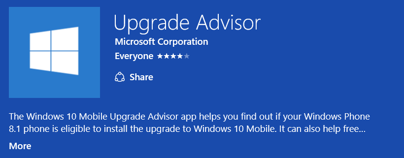 Windows 10 Mobile Update for Windows Phone 8.1 Users