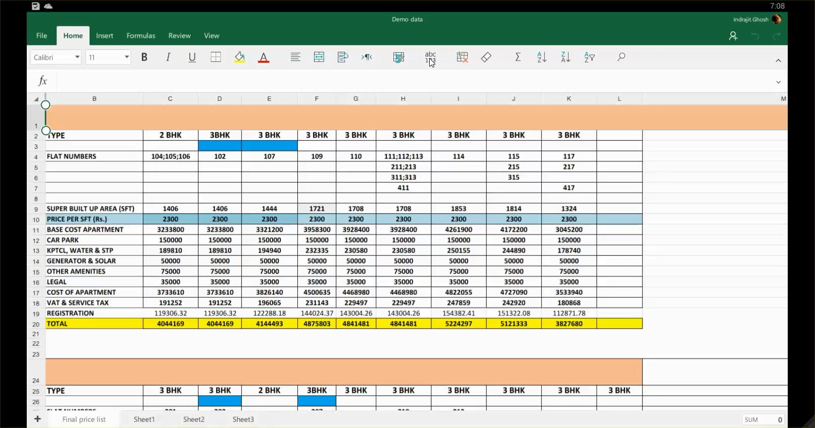How to migrate from Google Sheets to Microsoft Excel in Android