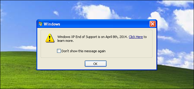 How long will Windows XP be Supported