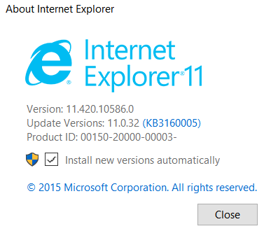 How to Manage Pop ups and Compatibility Settings in IE 11