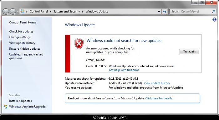 How to Fix Windows Update Error Code 0x80070490