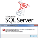 How to Upgrade from Expired SQL Evaluation Edition