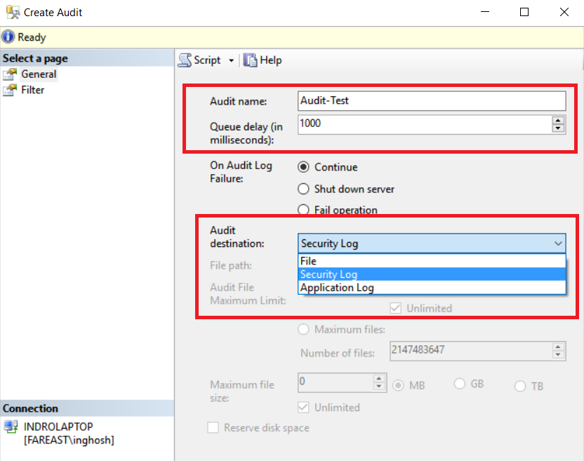 Auditing Features in SQL Server 2016 and Azure SQL Database