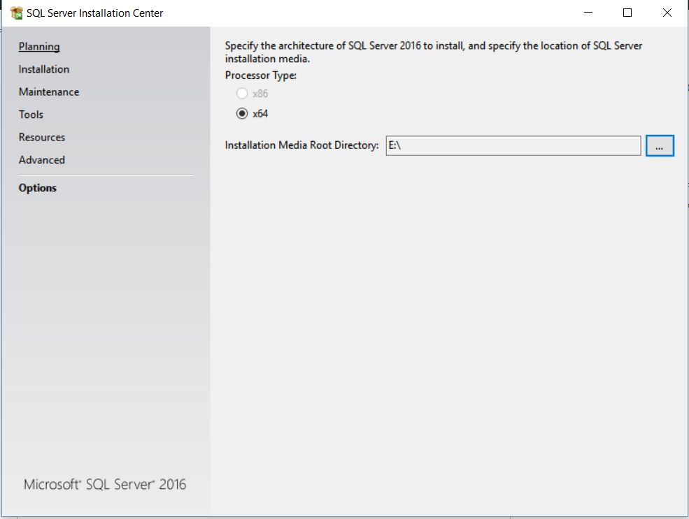 New SQL Server 2016 Installation Features Walk through
