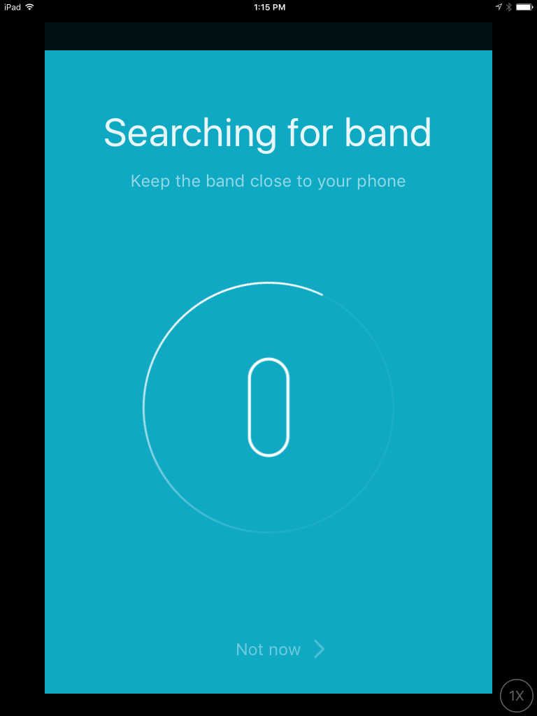How to Connect Setup and Pair Mi Band 2 for iOS iPAd and iPhones