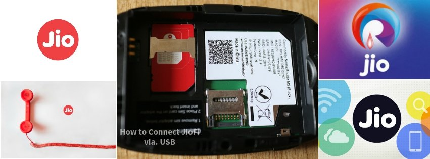 How to Connect Your Jiofi Device To PC Using Through USB Tethering
