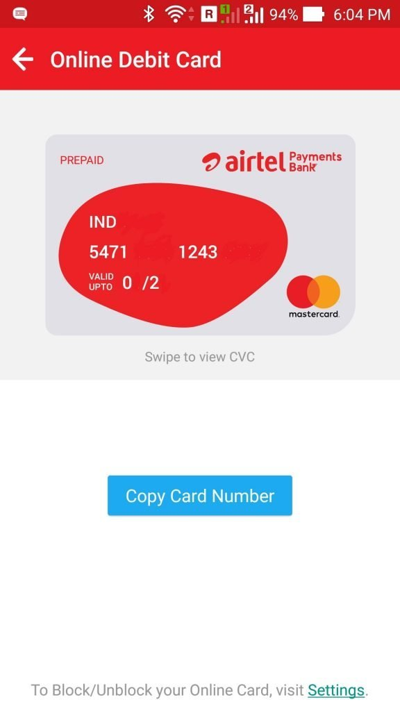 Open Airtel Payments Bank Account