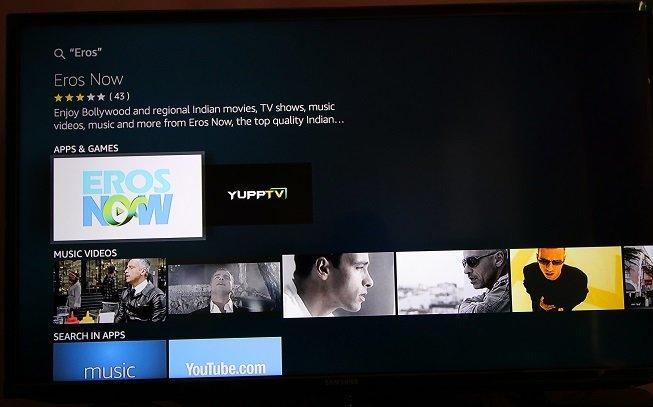 Redeem Airtel ErosNow & Gaana Offer With Amazon Fire TV Stick