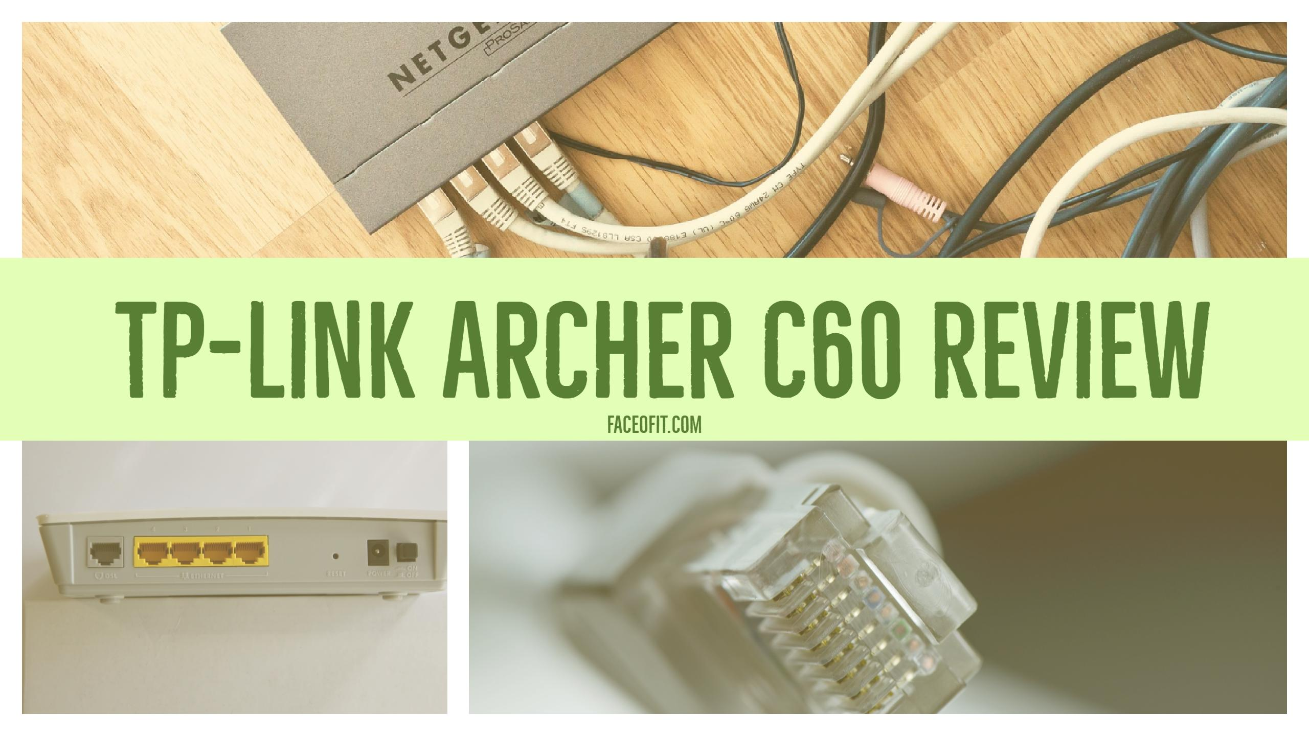 Dual Band TP-Link Archer C60 WiFi Router Review Specifications & Setup